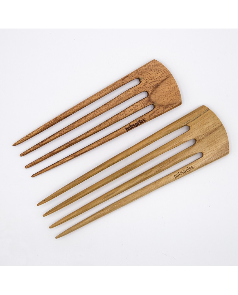 Simple 3 prongs teak